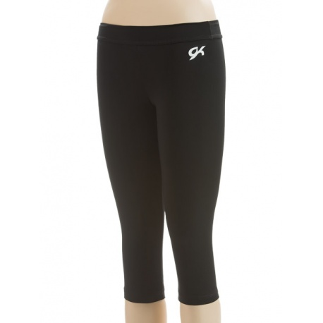 Black DryTech capri pants E2259