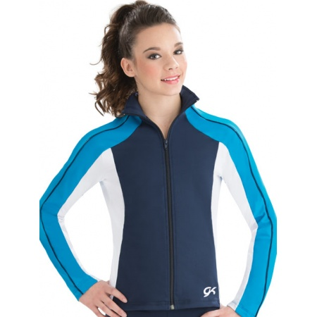 Dynamic fitted warm-up jacket 8779
