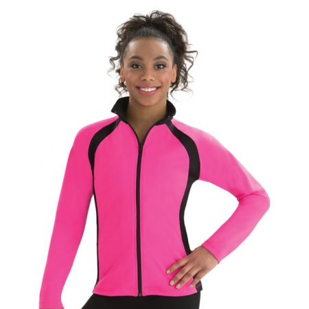 Sporty spade fitted warm-up jacket 8756