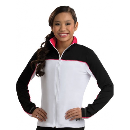 Double take fitted warm-up jacket 8715