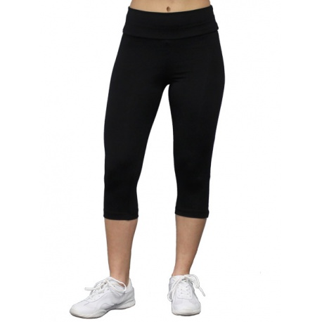 Fitted Warm-up capris 8787
