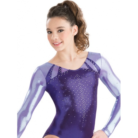 Modern muse long sleeve leotard 7607