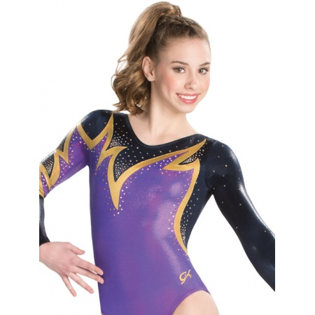 Whispering flame competition leotard 9609