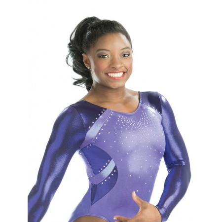 Twisted competition leotard 4883