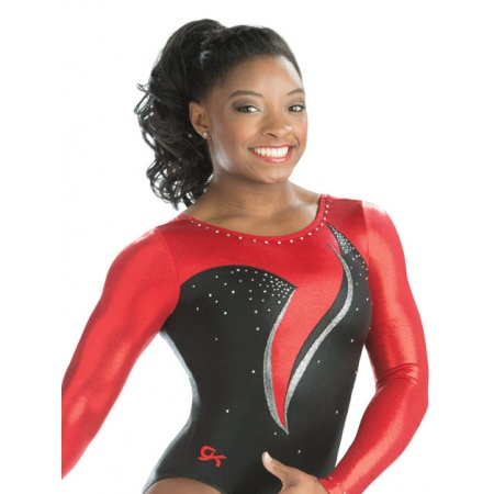 Wandering wave competitive leotard 7585