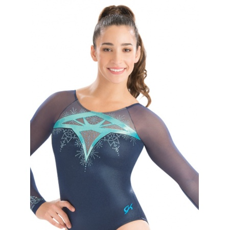 Stained Glass Long Sleeve leotard 7628