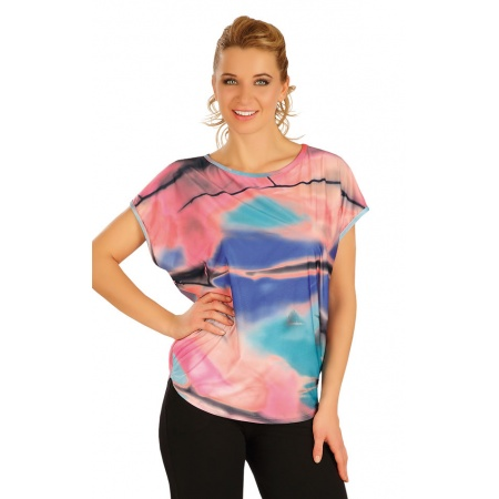 T-shirt with butterfly sleeves - size M