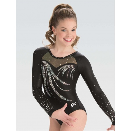 Refined elegance gymnastics leotard 7597