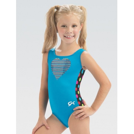 E3782 - Colorful Heart Leotard