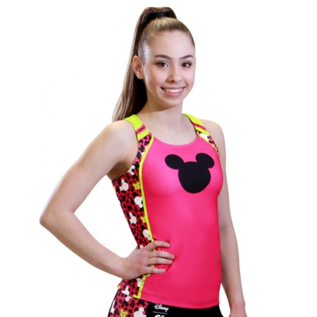 Mickey Print Cheer Long Top DSY104