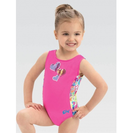 E3938 - Gkids All Hearts Tank Leotard