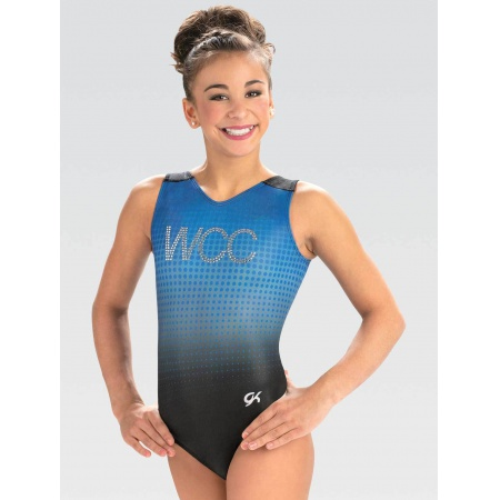 BRANDED V-Neck Leotard 3858 Y42