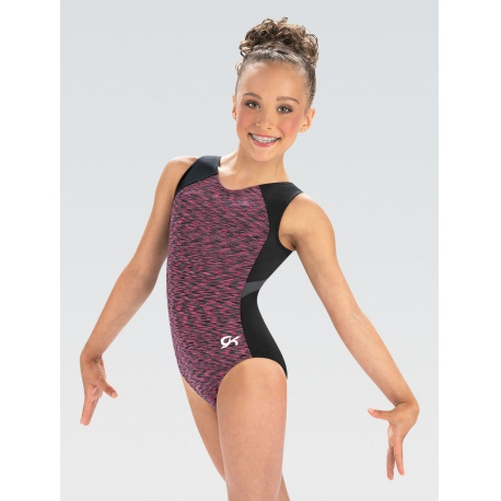 E4024 - Hot Pink Heather Leotard - size AS