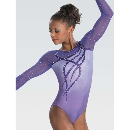 Ribbon and curls sublimated leotard 9601S