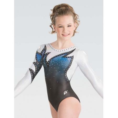 Whispering flame sublimated leotard 9609S