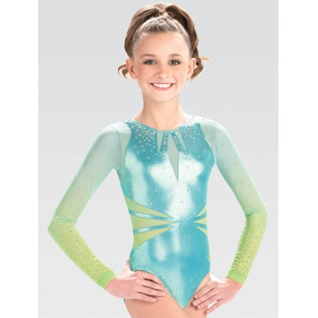 Sharp Edged Sublimated Competition Leotard