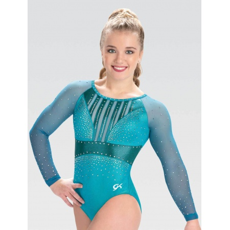 Parallel Sublimated Competition Leotard
