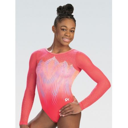 Falling Feathers Sublimated Competition Leotard