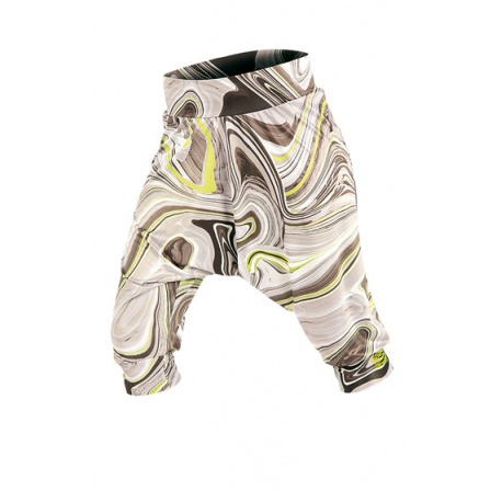 Woman´s harem trousers in 3/4 length